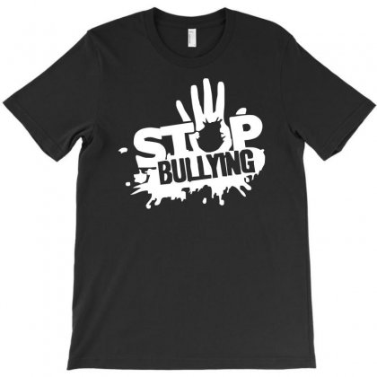 Stop Bullying T-shirt Designed By S4de