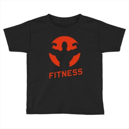 Fitness Toddler T-shirt Designed By Milanacr