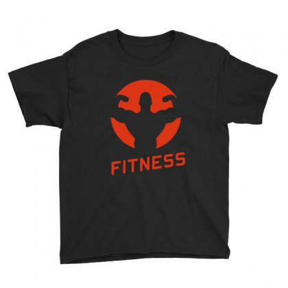 Fitness Youth Tee Designed By Milanacr