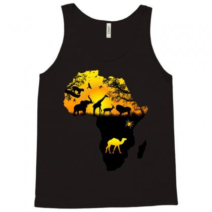 Forest Map Tank Top Designed By Milanacr