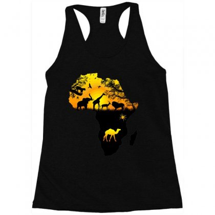 Forest Map Racerback Tank Designed By Milanacr