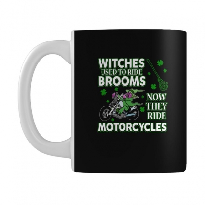 Irish Witches Ride Motorcycles T Shirt Mug Designed By Hung