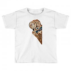dog lens behind curiosity Toddler T-shirt | Artistshot