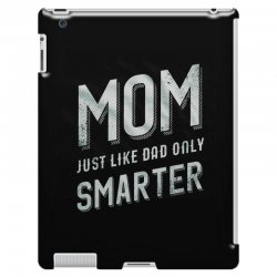4f447a16b9b93f Custom Mom Just Like Dad Only Smarter Iphone 8 Case By Anrora ...