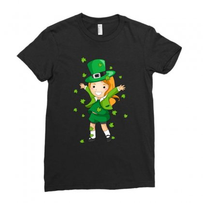 St Patricks Day Irish Princess Holiday T Shirt Tee Ladies Fitted T-shirt Designed By Hung