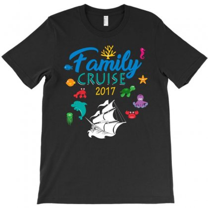Family Cruise 2017 Shirt   Group Vacation Summer Tee T-shirt Designed By Hung