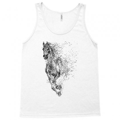Illustration Of Horse Tank Top Designed By Milanacr
