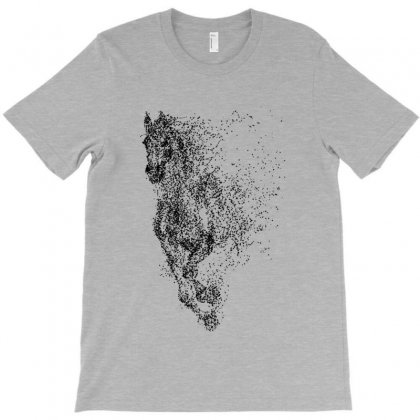 Illustration Of Horse T-shirt Designed By Milanacr