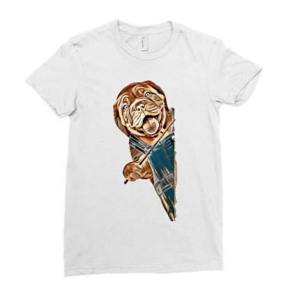 Stock Assets To Power Your Creativity Ladies Fitted T-shirt Designed By Kemnabi