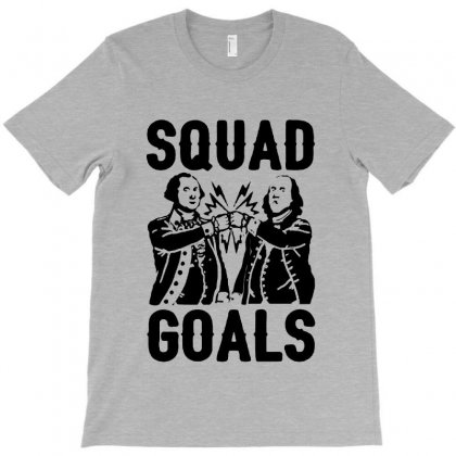 Squad Goals T-shirt Designed By Milanacr