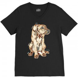 looking adorable animal animals beautiful V-Neck Tee | Artistshot