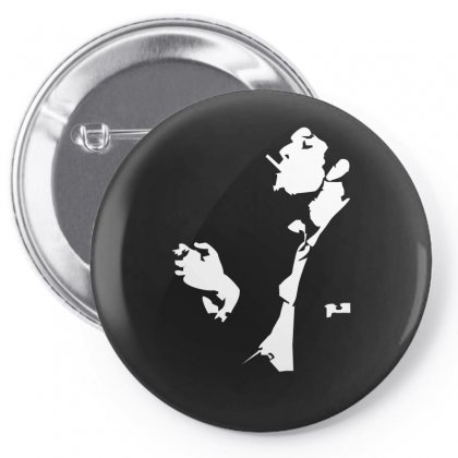Tom Waits Rock Indie Rock Pop Music Pin-back Button Designed By Holil
