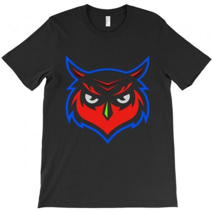 The Owl T-shirt Designed By Milanacr