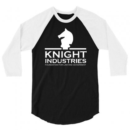 Tv T Shirt Inspired By Knight Rider   Tv 3/4 Sleeve Shirt Designed By Holil