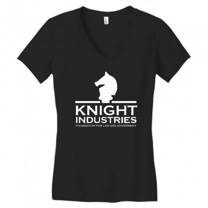 Tv T Shirt Inspired By Knight Rider   Tv Women's V-neck T-shirt Designed By Holil
