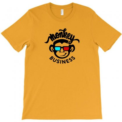 Monkey Business T-shirt Designed By Irawan