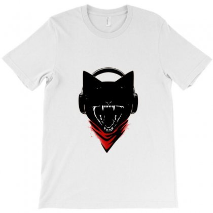 Monster Cat T-shirt Designed By Awangsastrawan