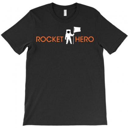 Rocket Hero T-shirt Designed By Shoptee