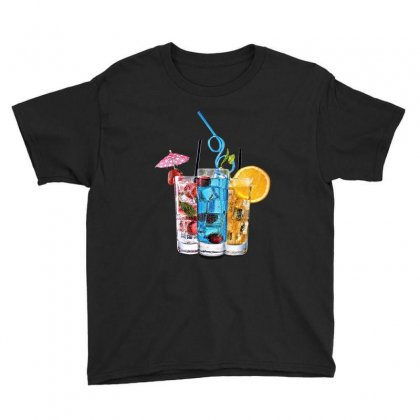 Summer Ice Iced Juice Cola Youth Tee Designed By Milanacr