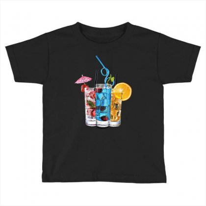 Summer Ice Iced Juice Cola Toddler T-shirt Designed By Milanacr