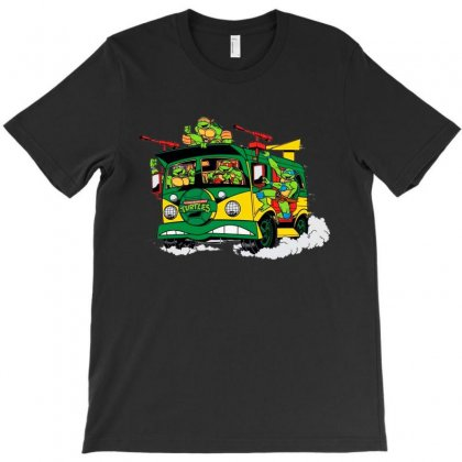 Tmnt Squad T-shirt Designed By Milanacr