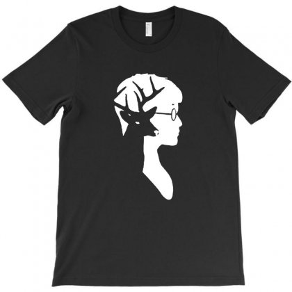 Harry Potter Deer Silhouette T-shirt Designed By Tee Shop