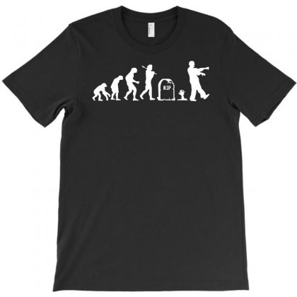 Zombie Evolution T-shirt Designed By Holil