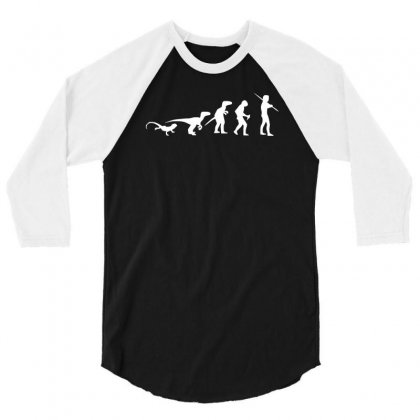 Icke Evolution T Shirt   Funny 3/4 Sleeve Shirt Designed By Holil