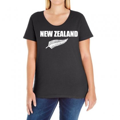 New Zealand Ladies Curvy T-shirt Designed By Holil