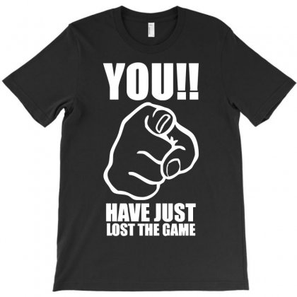 You Have Just Lost The Game  Funny Computer Internet Humour T-shirt Designed By Holil