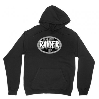 Las Vegas Raider Nation Unisex Hoodie Designed By Tiococacola