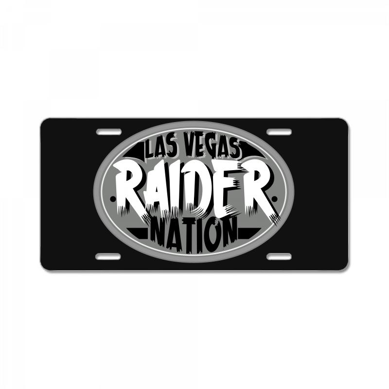 50b3c6463 Custom Las Vegas Raider Nation License Plate By Tiococacola - Artistshot