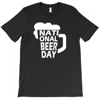 National Beer Day Tshirt T-shirt Designed By Alex