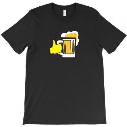 I Love Beer Funny Tshirt T-shirt Designed By Alex