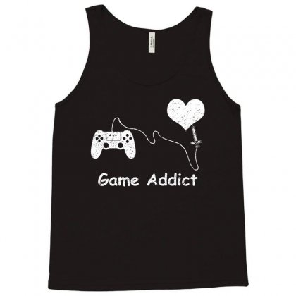Game Addict T Shirt Tank Top Designed By Hung