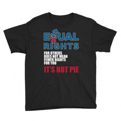 Equal Rights For Others Does Not Mean It S Not Pie T Shirts Youth Tee Designed By Hung