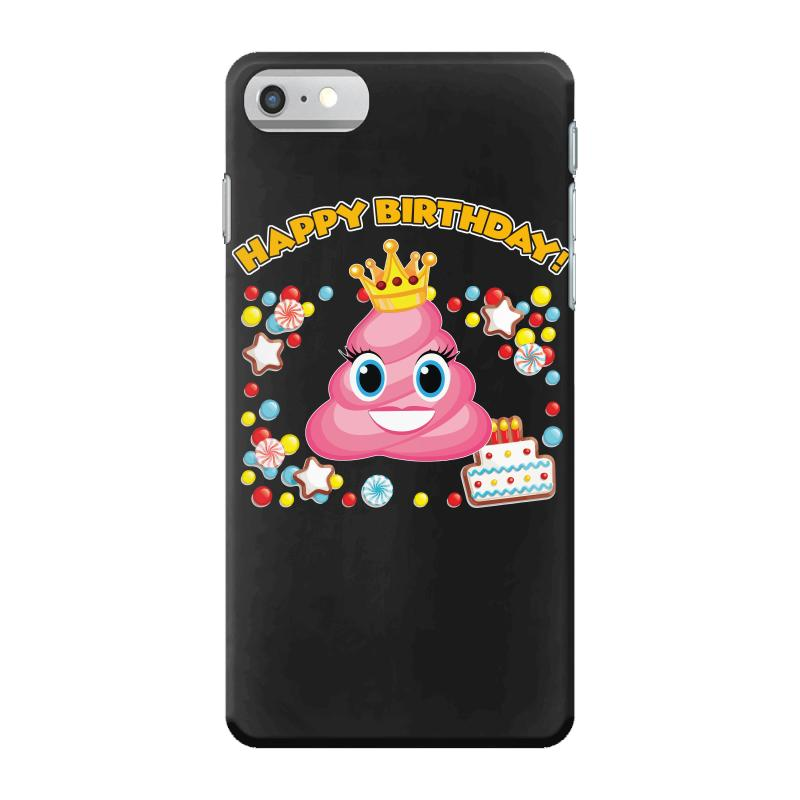 Pink Poop Emoji Happy Birthday Shirt Girls IPhone 7 Case