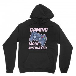 gaming mode activated Unisex Hoodie | Artistshot