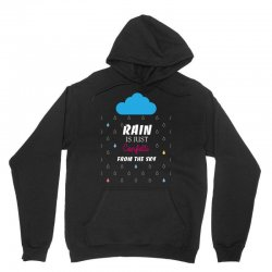 rain is just confetti from the sky Unisex Hoodie | Artistshot