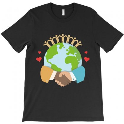 Earth Day T-shirt Designed By Wizarts