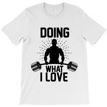 Doing What I Love T-shirt Designed By Wizarts