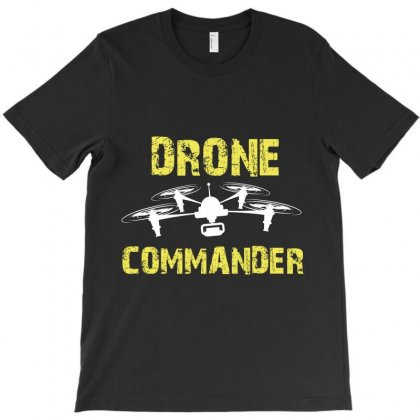 Drone Commander T-shirt Designed By Wizarts
