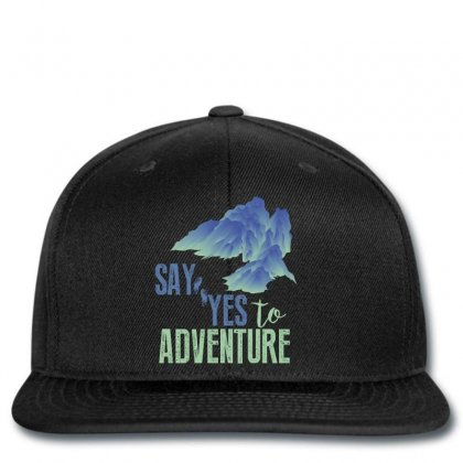 Say Yes To Adventure Snapback Designed By Wizarts