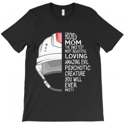 Hockey Mom T-shirt Designed By Wizarts