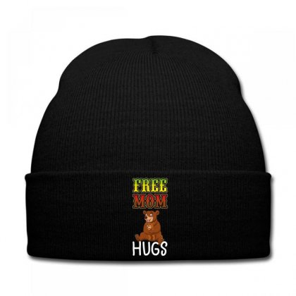 Free Mom Hugs Knit Cap Designed By Wizarts