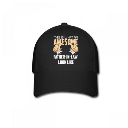 This Is What An Awesome Father In Law Look Like Baseball Cap Designed By Wizarts