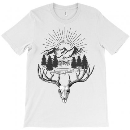 Mountain T-shirt Designed By Wizarts