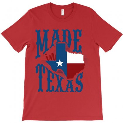 Made In Texas T-shirt Designed By Wizarts