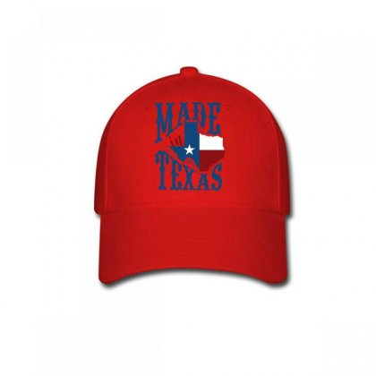 Made In Texas Baseball Cap Designed By Wizarts
