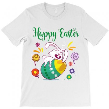 Happy Easter T-shirt Designed By Wizarts